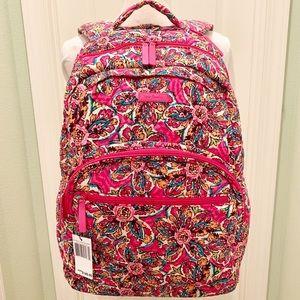 sunburst floral Vera Bradley large Backpack pink
